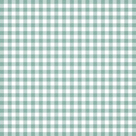 Grandma's Kitchen - Light Blue Gingham Paper