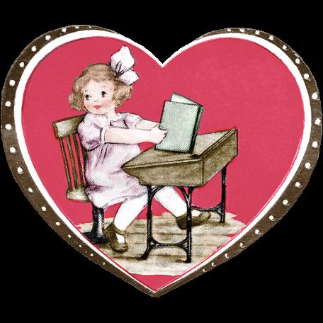Be Mine - Vintage Valentine Card