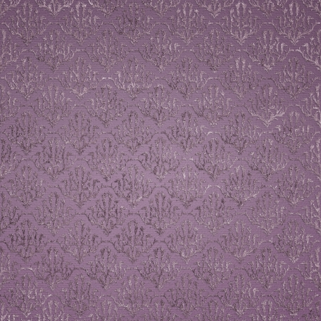 Be Mine - Purple Damask Fabric