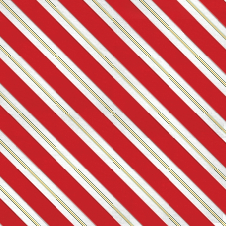 Christmas Memories - Red Small Stripe Paper