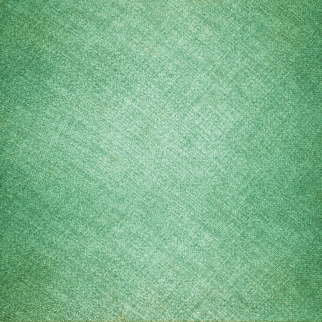 Green Cotton Weave Fabric Paper