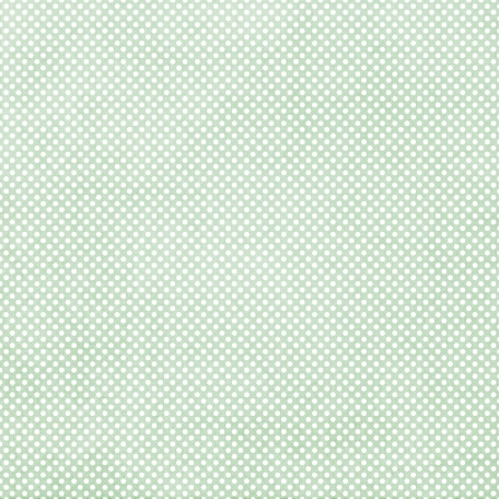 Be Mine Mini Paper Polka Dots - Green