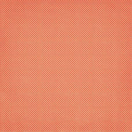 Orange Swiss Dot Fabric Paper