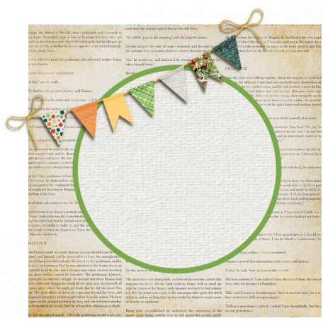 The Lucky One - Bunting Sticker
