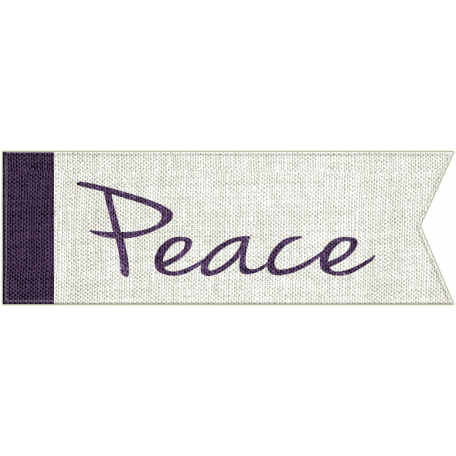 Earth Day - Peace Word Art