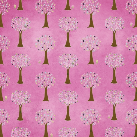Earth Day - Pink Tree Paper