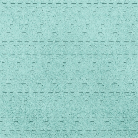Earth Day - Teal Recycled Paper