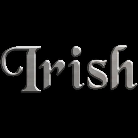 The Lucky One Irish Wire Word Art