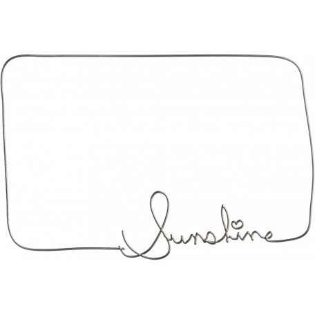 Sunshine and Lemons - Sunshine Wire Frame