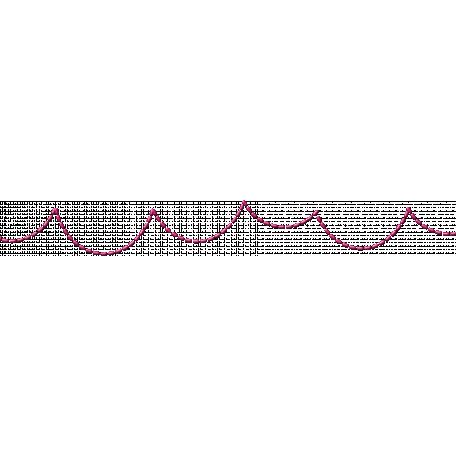 One Stop Bunting Shop - Stitching Dark Pink