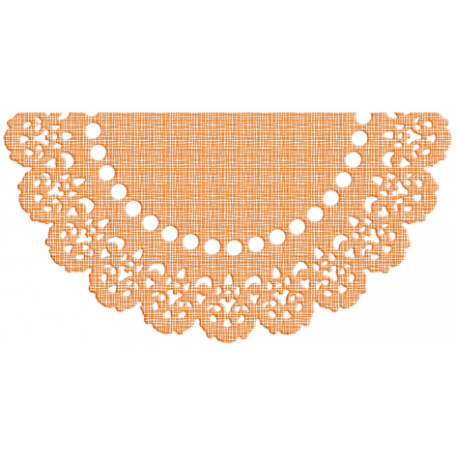 One Stop Bunting Shop - Flag Orange Doily 2
