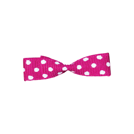 One Stop Bunting Shop - Pink Polka Dot Bow