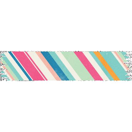 Hello Striped Washi Tape
