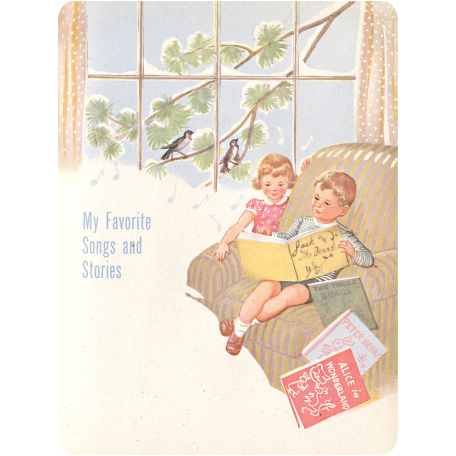 Oh Baby, Baby - Favorite Stories Journal Card
