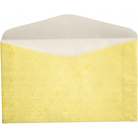 Oh Baby, Baby - Yellow Envelope