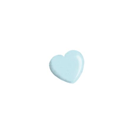 Oh Baby Blue Heart Bead