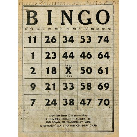 Independence - Bingo Card