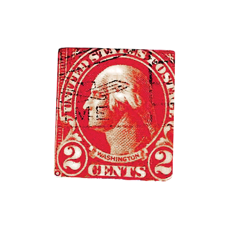 Independence - Vintage Stamp