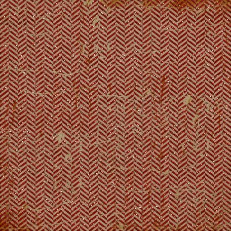 Sports Paper Chevron 05 Glitter Distressed Red