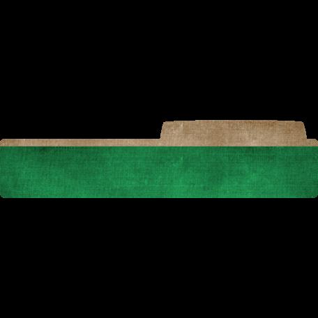 Color Basics File Tab Right Dark Green