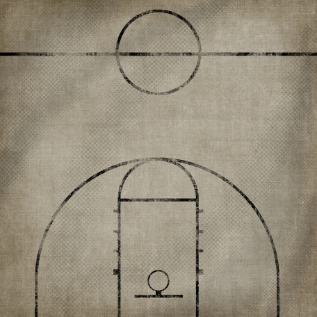 Basketball Paper Court