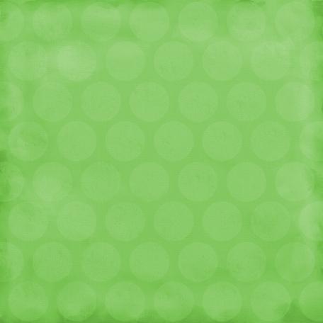 Color Basics Paper Circles Big Light Green