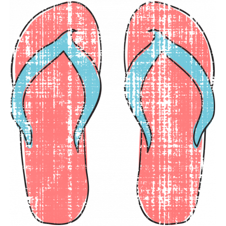 Tropics Flip Flops Pink 02