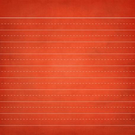 School Paper Lined Orange