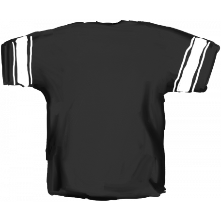Football Jersey Back Black