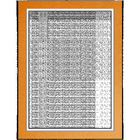 Spook Frame Orange