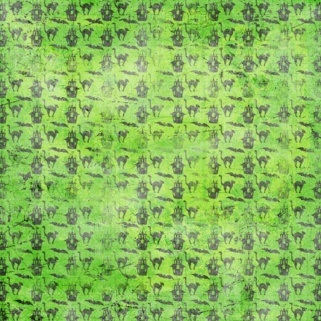 Spook Paper Sketches Green