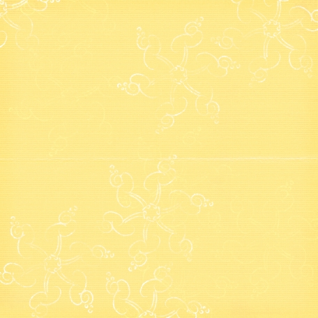 Touch of Christmas Paper Snowflakes Yellow