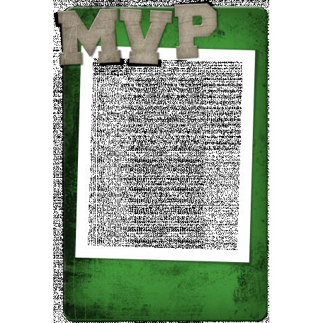 Sports MVP Card - Green
