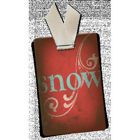 Snow Day Snow Tag