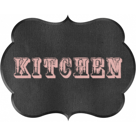 Kitchen Chalkboard Kitchen