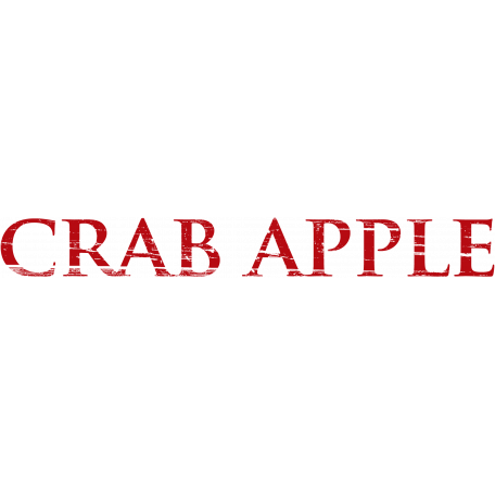Apples Word Art Crab Apple