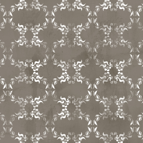 Apples Paper Damask 006 Distressed