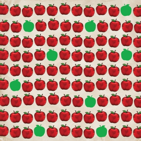 Apples Paper Apples Pattern