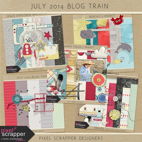 July 2014 Blog Train Bundle