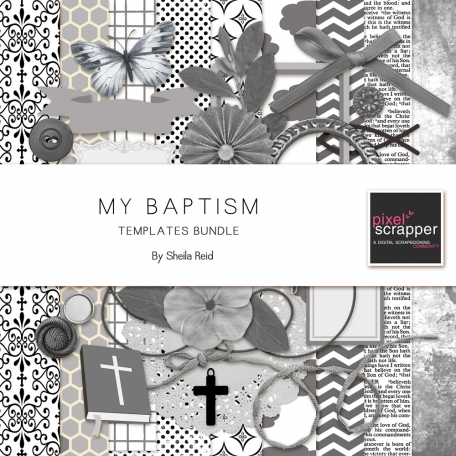 My Baptism Templates Bundle