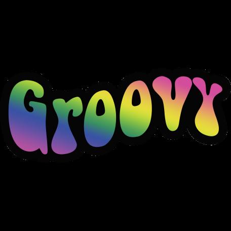 Retro 60s Groovy Word graphic by Rebecca Sawyer | Pixel ...
