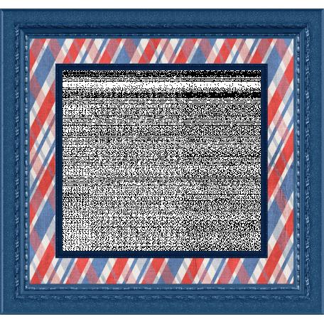 Patriotic Frame 01 Graphic By Gina Jones Pixel Scrapper