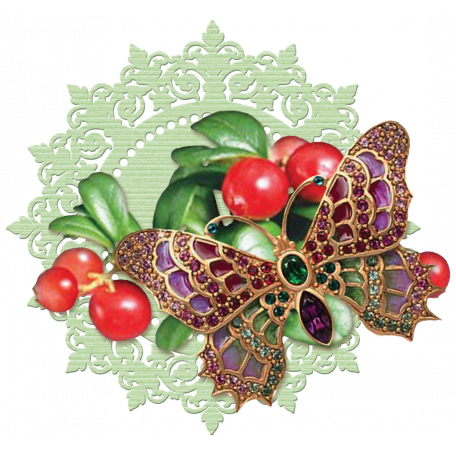 Berry Garden Mat Cluster Graphic By Sunny Faith Rush
