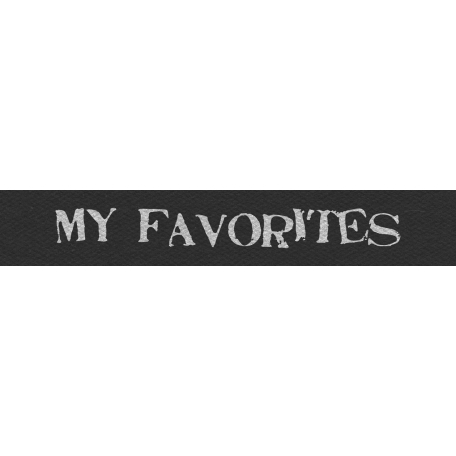 Mix and Match - My Favorites Word Strip