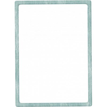 Birthday Wishes Thin Blue Frame Graphic By Sheila Reid