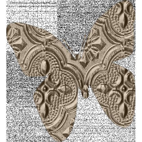 Jane - Metal Butterfly