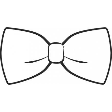 xy doodle black bow tie graphic by dewi stolp