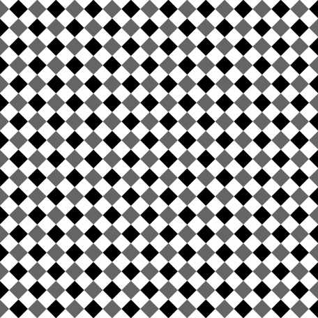 Gingham Paper Template - Half Inch Squares, Diagonal