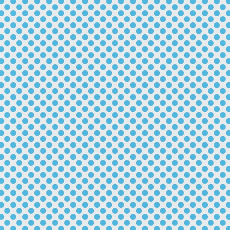 Polka Dots 23 Paper - Blue & White