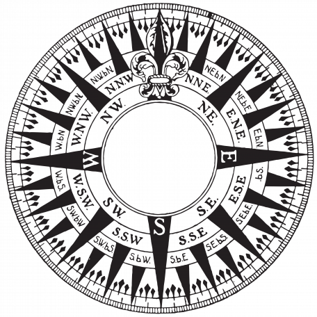Compass Stamp 5